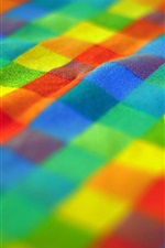 Colorful cloth, bokeh