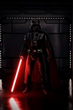 Darth Vader, espada, jogos de EA, Star Wars: Battlefront