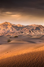 Preview iPhone wallpaper Death Valley, desert, USA