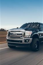 Preview iPhone wallpaper Ford pickup speed