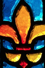 Preview iPhone wallpaper Gravelbourg, Saskatchewan, Canada, stained glass