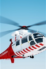 Preview iPhone wallpaper Helicopter rescue