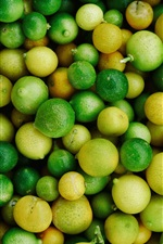 Preview iPhone wallpaper Many limes and lemons
