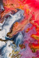 Preview iPhone wallpaper Multicolor paint background