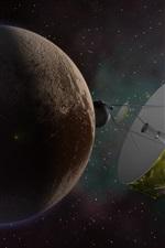 Plutão, planeta, estação interplanetária, NASA