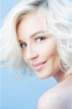 Preview iPhone wallpaper Polina Gagarina 02