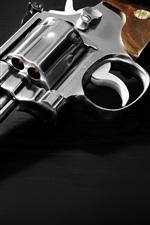 Preview iPhone wallpaper Revolver, gun, weapon