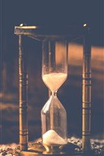 Sand hourglass, time counter