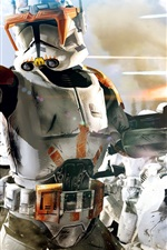 Preview iPhone wallpaper Star Wars: The Clone Wars