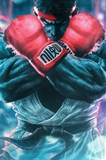 Preview iPhone wallpaper Street Fighter 5, classic games