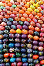 iPhone fondos de pantalla Ucrania, muchos huevos de Pascua