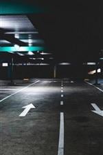 Preview iPhone wallpaper Underground, parking