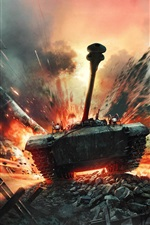 Preview iPhone wallpaper War Thunder, PC games, tank