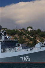 Preview iPhone wallpaper Admiral Grigorovich, frigate, Navy