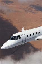 Preview iPhone wallpaper Aerospace G150 plane flight