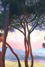 Art painting, trees