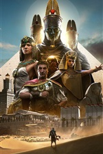 Preview iPhone wallpaper Assassin's Creed: Origins, hot game