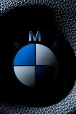 BMW fotografia macro de logotipo