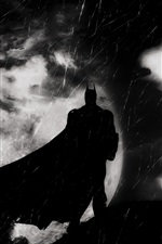 Preview iPhone wallpaper Batman, Arkham Knight, art picture