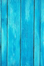 Fundo azul da placa de madeira