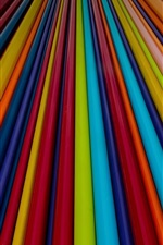 Preview iPhone wallpaper Colorful lines, abstract design