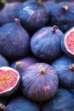 Preview iPhone wallpaper Delicious figs, fruit