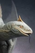 Fantasy art, lizard