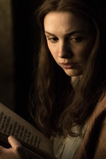 Preview iPhone wallpaper Game of Thrones, girl read book