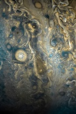 Preview iPhone wallpaper Jupiter, space
