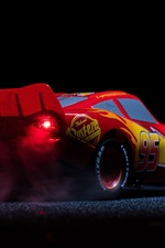 Preview iPhone wallpaper Lightning McQueen, Cars 3, Disney animated film