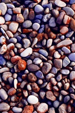 Preview iPhone wallpaper Many stones, gravel