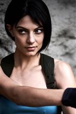 Resident Evil, cosplay, menina, arma