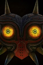 Preview iPhone wallpaper The Legend of Zelda, mask, eyes