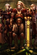 World of Warcraft, elf, art picture
