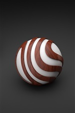 Preview iPhone wallpaper 3D balls graphics