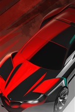 Preview iPhone wallpaper BMW concept car, design
