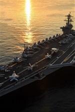 Preview iPhone wallpaper CVN-71 aircraft carrier, USS Theodore Roosevelt