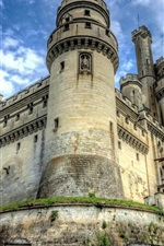 Preview iPhone wallpaper Chateau de Pierrefonds, castle, France