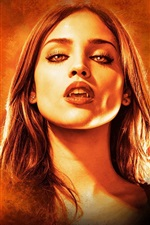 Preview iPhone wallpaper Eiza Gonzalez, vampire, From Dusk Till Dawn, TV series