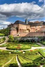 Preview iPhone wallpaper France, castle, garden