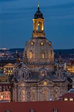 Preview iPhone wallpaper Frauenkirche, Dresden, Germany