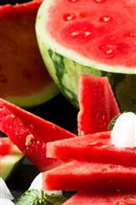 Preview iPhone wallpaper Fruit watermelon, summer, delicious