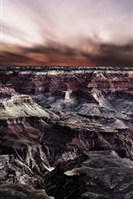 Preview iPhone wallpaper Grand Canyon, rocks, beautiful nature landscape
