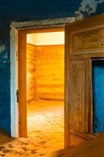 Preview iPhone wallpaper House, sands, door