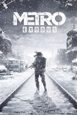 Preview iPhone wallpaper Metro: Exodus