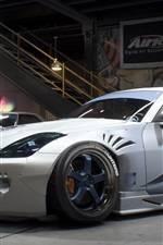 Preview iPhone wallpaper Need For Speed: Payback, Nissan 350Z white car