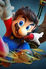 Preview iPhone wallpaper Odyssey, Super Mario, classic games
