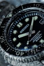 Relógio Seiko, água