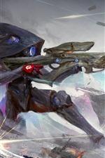 Atirador, rifle sniper, jogo, imagem de arte