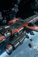 Star Citizen, starship, space, PC games